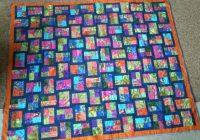 Stylish sparkling gemstones jellyroll quilt jellyroll quilts 10 Cool Sparkling Genstones Quilt Pattern