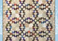 Stylish summer wedding quilt pattern jamie janow elfery of back cat creations double wedding ring variation 11   Wedding Quilt Patterns