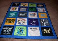 Stylish t shirt quilt inspiration 10 Interesting Patterns For TShirt Quilts Gallery