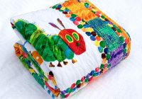 Stylish the very hungry caterpillar quilt etsy version carolina 11 Beautiful Very Hungry Caterpillar Quilt Pattern Gallery