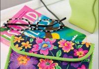 Stylish this quilted eyeglass case is so easy to make quilted Modern Quilted Eyeglass Case Pattern