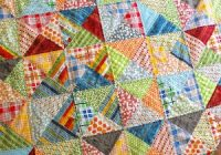 Stylish trending triangles half square triangle roundup weallsew 10 Beautiful Half Triangle Quilt Inspirations