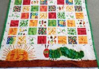 Stylish trendy very hungry caterpillar quilt pattern inspirations 11 Beautiful Very Hungry Caterpillar Quilt Pattern Gallery
