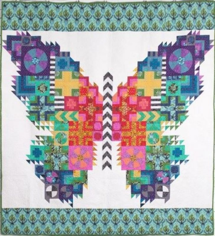 Permalink to 10   Tula Pink Butterfly Quilt Pattern