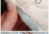 Stylish tutorial how to hand stitch binding invisibly sewing 9 New Hand Sewing Quilt Binding Inspirations