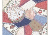 Stylish victorian crazy quilt 6 quilt pattern 10 New Victorian Crazy Quilt Patterns