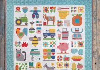 Stylish welcome back to the farm with lori holt the jolly jabber 9 Modern Pinterest Girl On Farm Quilt Gallery