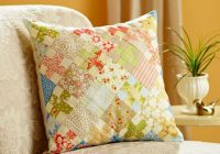 summer fun pillow quilts handmade pillows pillows Cool Quilting Pillow Patterns Gallery