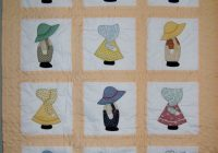 sunbonnet sue and overall sam dutch doll quilt closest i Overall Sam Quilt Block