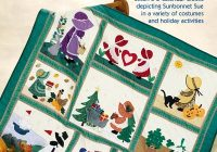 sunbonnet sue celebrates the holidays Interesting Sunbonnet Sue Quilt Pattern Book Gallery