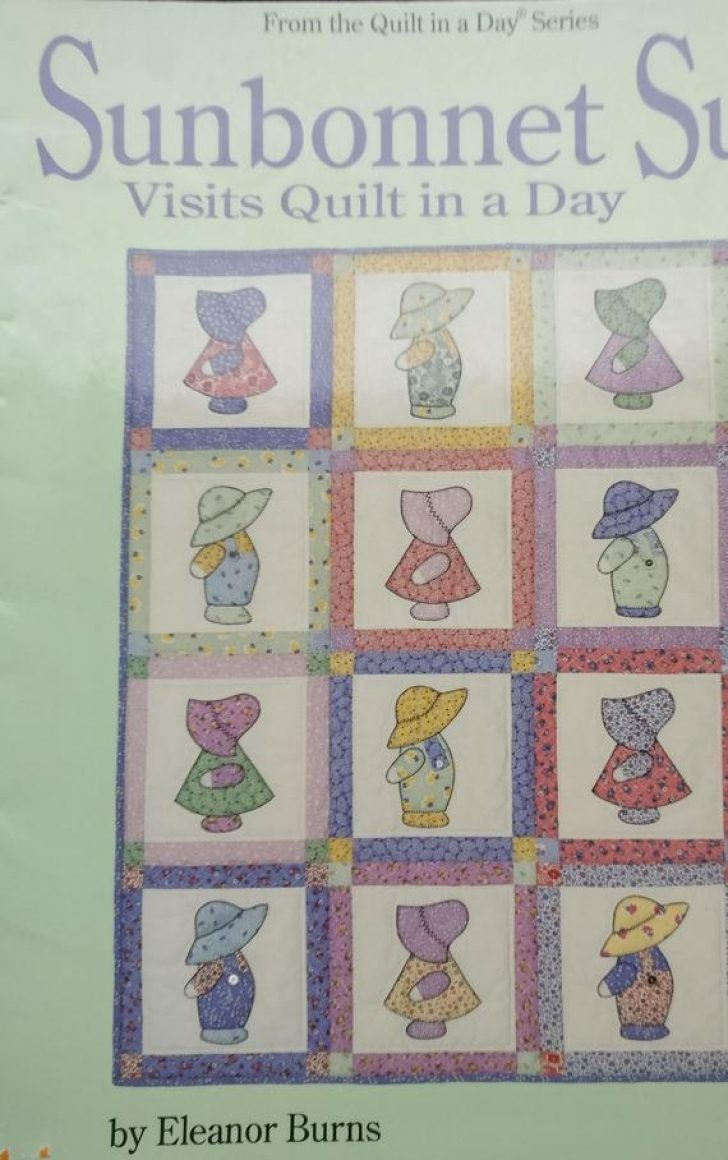 Permalink to Interesting Sunbonnet Sue Quilt Pattern Book Gallery