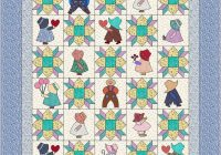 sunbonnet sue quilt pattern instant download pdf quilt is 84 x 96 full size Interesting Sunbonnet Sue Quilt Pattern