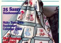 sunbonnet sue quilt special Interesting Sunbonnet Sue Quilt Pattern Book Gallery