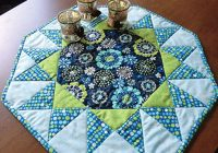sunburst quilted table topper pattern love to sew Cool Quilted Table Topper Patterns Inspirations