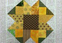 sunflower quilt block pattern free on bluprint Cozy Sunflower Quilt Patterns Free