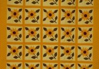 sunflower quilt free quilt patterns Unique Sunflower Quilt Patterns Inspirations