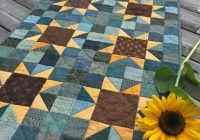 sunflowers quilt pattern pdf jen daly quilts instant download Unique Sunflower Quilt Patterns Inspirations