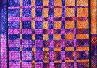 sunset quilt lisa s via flickr from a convergence Cozy Convergence Quilt Pattern Gallery