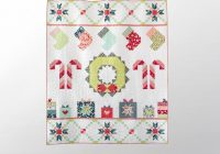 sweet noel garden party quilt kit bluprint Interesting Garden Party Quilt Pattern