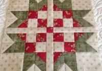 sweet scandinavian star block free christmas quilt Modern Scandinavian Quilt Patterns Gallery