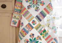 sweet vintage look quilt is so charming handmade Vintage Look Quilts