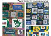 t shirt quilt patterns ebook Stylish Pattern For TShirt Quilt Gallery