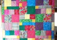 taniwa wicked easy bright quilt Wicked Easy Quilt Pattern Inspirations