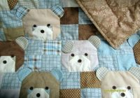 teddy bear rag quilt quilt racks ba rag quilts Cozy Teddy Bear Rag Quilt Pattern Gallery