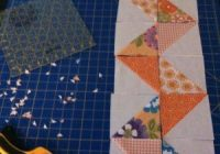 texas freckles triangles and zig zags quilt borders Interesting Triangle Quilt Border Pattern Gallery
