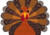 thanksgiving turkey quilt free quilt patterns Stylish Thanksgiving Quilt Patterns
