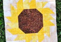 the 11 best diy sunflower crafts quilting sunflower Cozy Sunflower Quilt Patterns Free