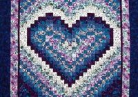 the art of the quilt heart bargello heart quilt pattern Interesting Heart Bargello Quilt Pattern Gallery