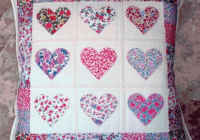 the best heart quilt designs patterns for valentines day Modern Heart Applique Quilt Patterns