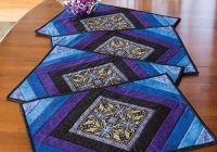 the best winter crafts to try quilting place mats Elegant Quilting Patterns For Placemats
