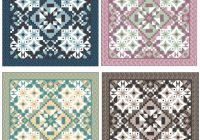 the designing of a downton abbey quilt a guest post Cool Downton Abbey Quilt Kit Inspirations