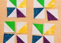 the easiest quilt pattern ever stitch this the martingale Interesting 4 Inch Square Quilt Pattern