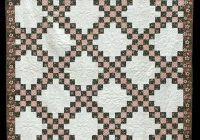 the irish chain quilt pattern from america or across the sea Cozy Double Irish Chain Quilt Pattern Gallery