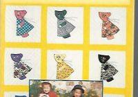 the little yellow book of sunbonnet sue Interesting Sunbonnet Sue Quilt Pattern Book Gallery
