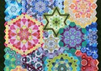the new hexagon millefiore quilt along katjas quilt shoppe Unique Hexagon Pattern For Quilting