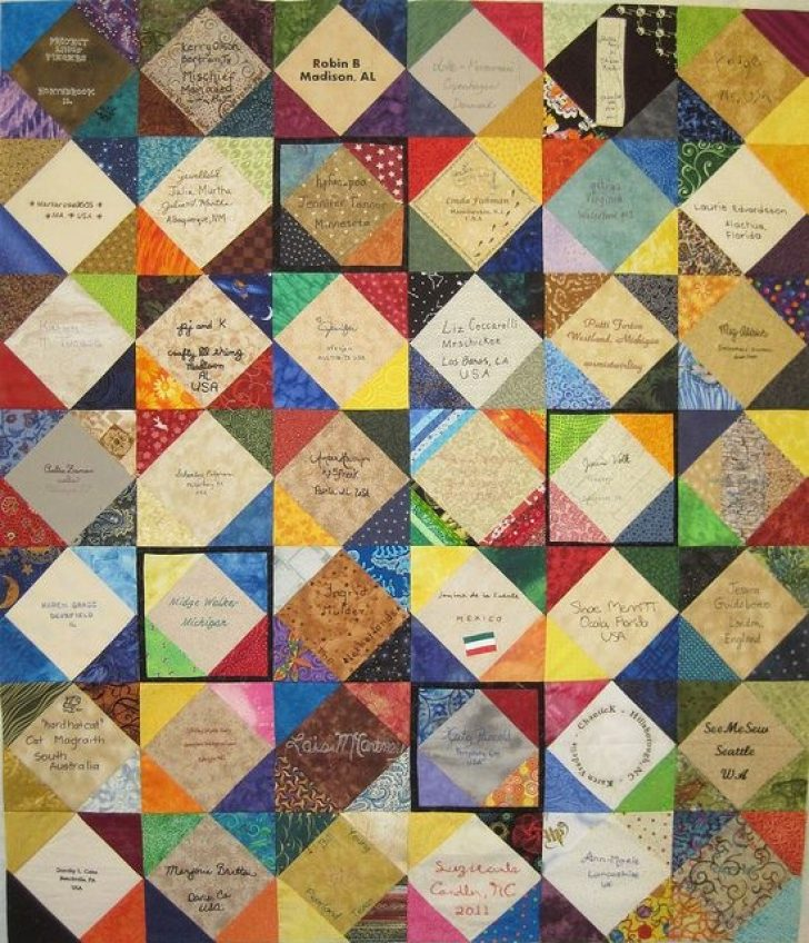 Permalink to Stylish Signature Quilt Block Pattern Inspirations