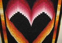the quilting kitty bargello heart quilt tutorial Interesting Heart Bargello Quilt Pattern Gallery