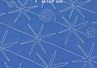 the snowflake a free motion quilting tutorial lori kennedy 11 Cozy Snowflake Quilting Pattern Gallery