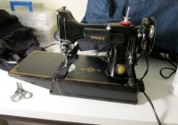 the vintage singer featherweight whats all the hype threads Stylish Best Vintage Singer Sewing Machine For Quilting