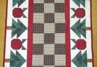 thimbleberries christmas apple quilt runner pattern wall Modern Thimbleberry Quilt Patterns Inspirations