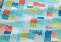 this fat quarter quilt is easy as can be quilting digest Quilt Patterns For Fat Quarters