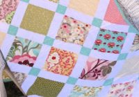 three charm packs for a lucky charm quilt quilting cub Interesting Charm Squares Quilt Patterns