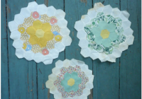 three vintage quilt blocks for crafting Stylish Vintage Quilt Blocks Inspirations