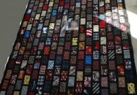 tie quilts pattern ideas 48 mobmasker necktie quilt tie Cool Tie Quilt Ideas For Gifts Inspirations