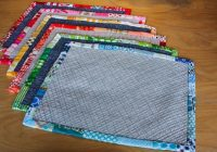 top 10 free placemat patterns and tutorials place mats Modern Quilted Placemat Patterns To Sew