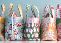 tote your lunch in style quilting digest 11 New Quilted Lunch Bag Pattern Inspirations